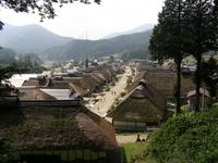 Fukushima Ouchi is inn thatched roof daimyo matrix begins Resona Sotoni Sotoni Stock photo [1697577] Fukushima