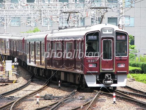 Hankyu train Photo
