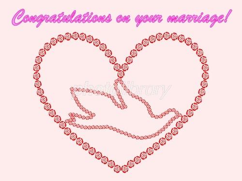 結婚祝いカード イラスト素材 1770684 フォトライブラリー
