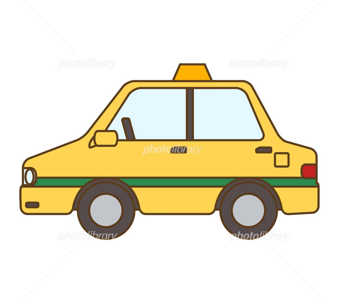 Taxi イラスト素材