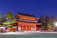 Heian Shrine 應天 Gate Stock photo [1766679] Heian