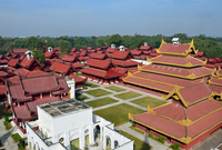 Mandalay Royal Palace Stock photo [1769379] Mandalay