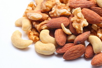 Mixed nuts Stock photo [1770068] Almond