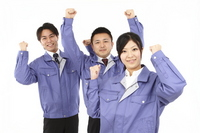 Men and women work clothes Stock photo [1771092] Man