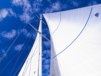 Yacht sail Stock photo [1774123] Yacht