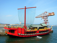 Barge Ataka round of 備州 era Stock photo [1860733] Barge