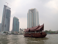 Landscape of Bangkok, Thailand Chao Phraya River Stock photo [1864380] Chao