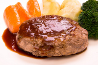 Hamburger steak Stock photo [1868017] Hamburger