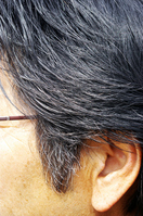 Hair of men in their 50s Stock photo [1869748] Ear