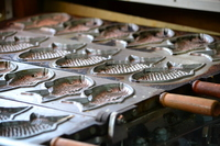 Taiyaki of iron plate Stock photo [1871131] Thailand