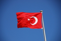 Turkey flag Stock photo [1873396] Turkey