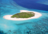 Beautiful island as seen from the Maldives air taxi Stock photo [1874602] Maldives