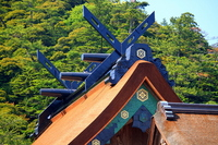 Izumo Taisha main shrine after large Sengu of Heisei Stock photo [1983754] Izumo-Taisha