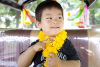 Boy riding a tuk-tuk Stock photo [1986662] Kids