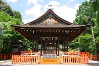 Kyoto Kenkun Shrine hall of worship Stock photo [2085274] Kenkun