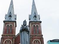 Church of the Blessed Virgin Mary Ho Chi Minh City Stock photo [2085326] Ho