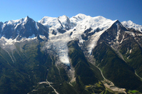 France Chamonix Mont Blanc and glaciers Stock photo [2085493] France