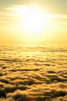 Sea of clouds and Asahi Stock photo [2087677] Clouds