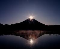 Diamond Fuji stock photo
