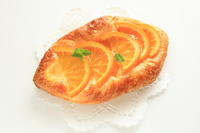 Orange Danish pastry Stock photo [2092605] Pastry