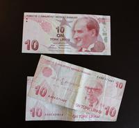 Turkey 10 lira bill Stock photo [2094557] Turkey
