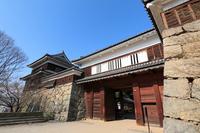 Shinshu Ueda Joto Koko Yaguramon Stock photo [2096963] Shinshu