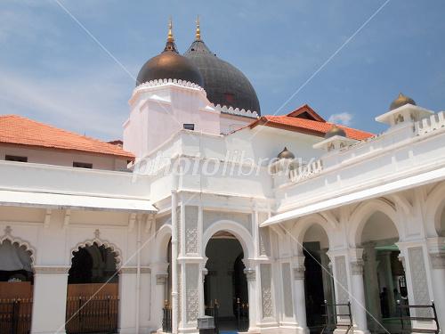 世界遺産 ペナン島・ジョージタウンのカピタン・クリン・モスク-写真素材  世界遺産 ペナン島・ジ