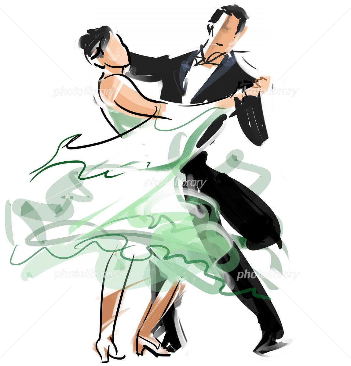 社交ダンス イラスト素材 2183050 フォトライブラリー Photolibrary