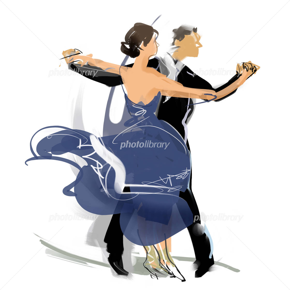 社交ダンス イラスト素材 2259062 フォトライブラリー Photolibrary