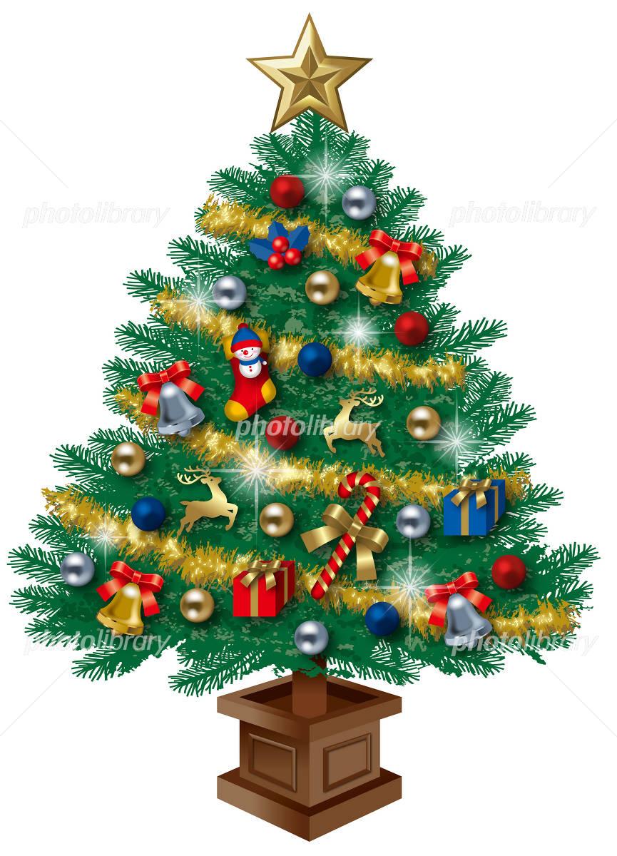 Christmas tree イラスト素材
