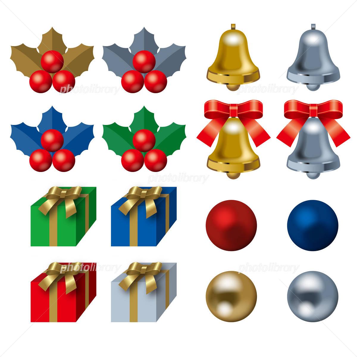 クリスマスオーナメント イラスト素材 [ 2192274 ] , フォト