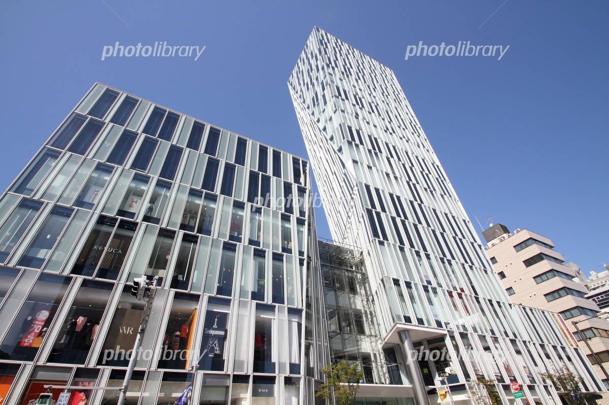 Tokyo Omotesando complex commercial building Photo