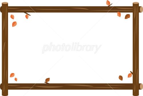 木製フレーム イラスト素材 2195901 フォトライブラリー Photolibrary