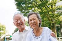 Smile of Naka good old couple Stock photo [2179805] Zinnia