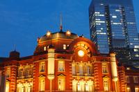 Tokyo Station night view Stock photo [2180623] Tokyo