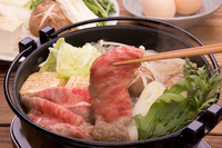 Sukiyaki of Japanese beef loin Stock photo [2185707] Sukiyaki