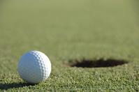 Golf ball on the green Stock photo [2189215] Golf