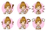Nurse expression icon Nurse