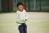 First of Tennis Stock photo [2190967] Kids