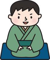 Rakugo storyteller An