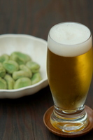 Beer and broad beans Stock photo [2195453] Beer
