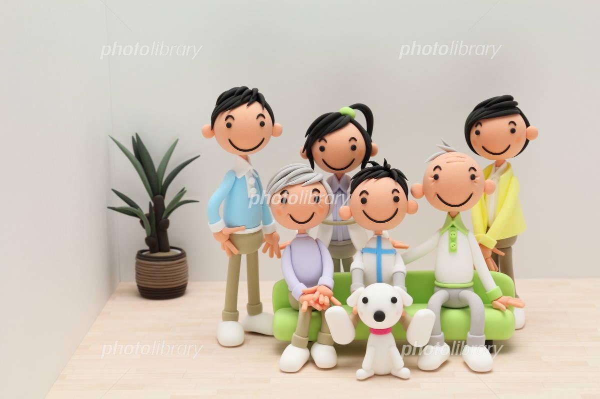 Family of clay Photo