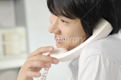 Businessmen have a telephone Photo