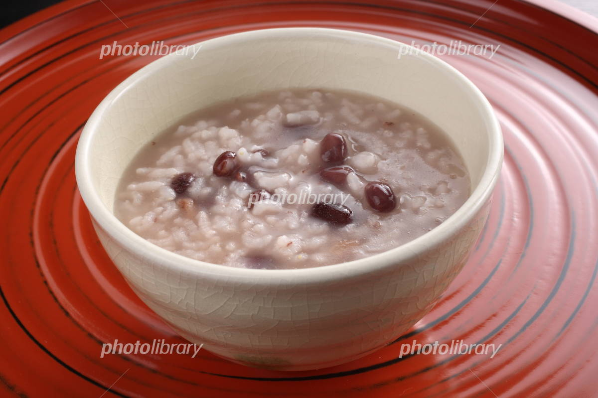 Red bean soup Photo