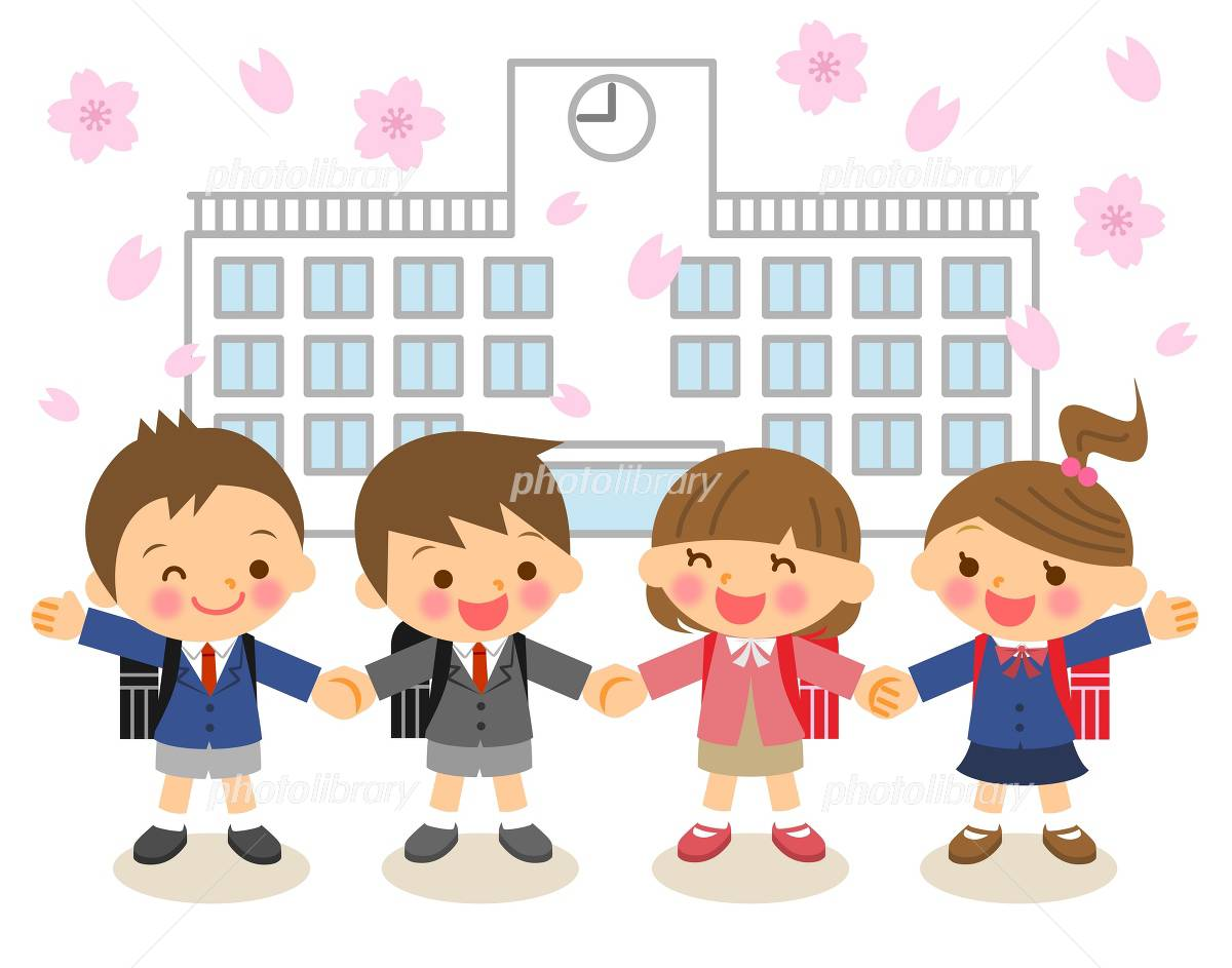 Admission illustrations イラスト素材