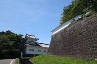Ishigaki and Wakiyagura major Monzeki of Sendai Castle Stock photo [2318379] Aoba