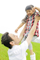 Father bring had a daughter Stock photo [2319103] 2