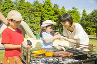 Family to enjoy a barbecue Stock photo [2319272] BBQ