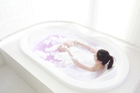 Women wash the body in the bath of bubbles Stock photo [2322131] 1