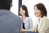OL and businessman in meeting Stock photo [2322379] OL
